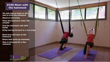 Moon with the hammock – exercise #100