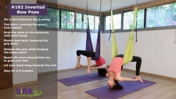Inverted Bow Pose – exercise #102