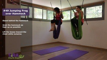 Jumping Frog over Hammock – exercise #49