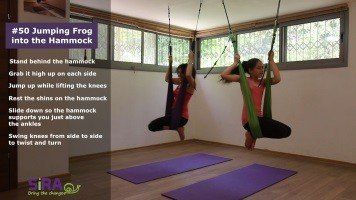 Jumping Frog into the Hammock – exercise #50