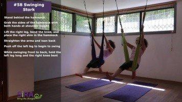 Swinging Stork – exercise #58