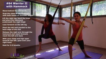 Warrior II with Hammock – exercise #64