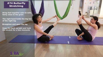 Butterfly Stretching – exercise #74