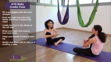 Baby Cradle Pose – exercise #79
