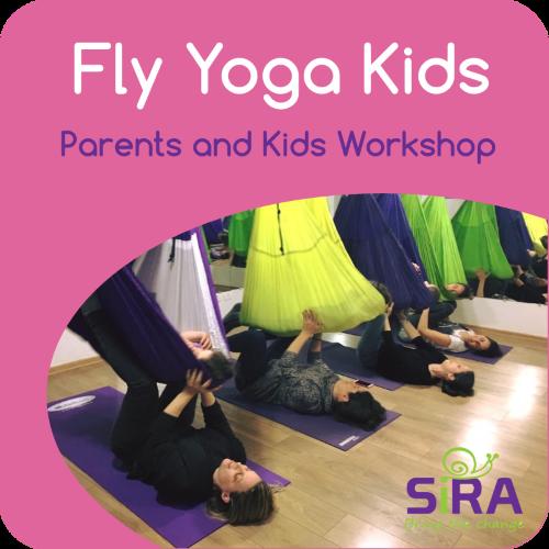 Parents Kids Fly Yoga Workshop Sira Aerial Yoga