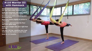 Warrior III with Hammock – exercise #110