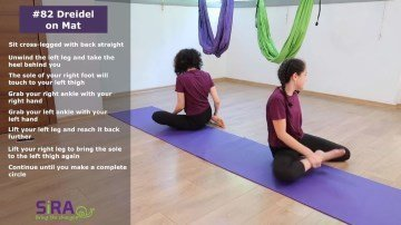 Spinning Top on Mat – exercise #82