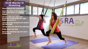 Warrior II Stretching – exercise #126
