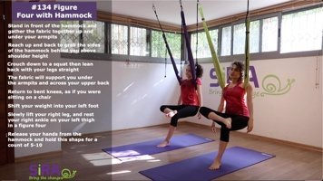 Figure Four with Hammock – exercise #134
