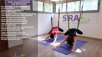 Inverted Butterfly with Side Stretch – exercise #143