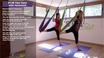 Hips Open with Hammock – exercise #148