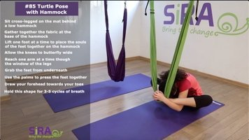 Turtle Pose with Hammock – exercise #85