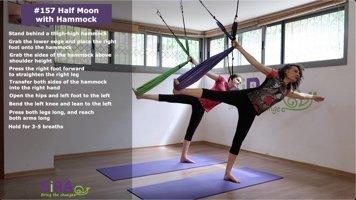 Half Moon with Hammock – exercise #157