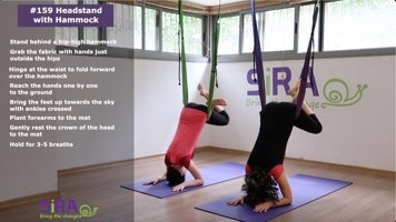 Headstand with Hammock – exercise #159