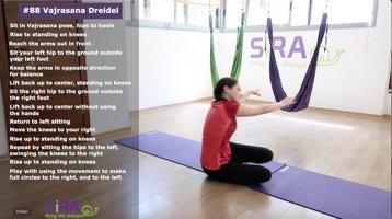 Vajrasana Dreidel – exercise #88