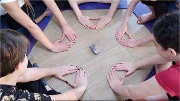 Hands Mandala – exercise #164