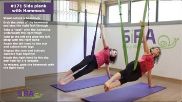 Side plank with Hammock – exercise #171