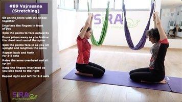 Vajrasana (Stretching) – exercise #89
